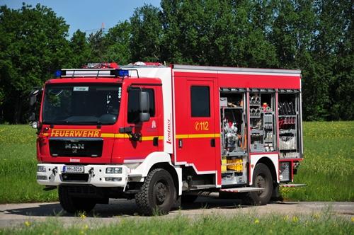 Löschgruppenfahrzeug des Katastrophenschutz